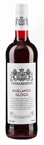 Vinfabriken Smalands Glögg Alkoholfrei - Fruchtsaftgetränk mit Glögg-Aroma (750 ml)