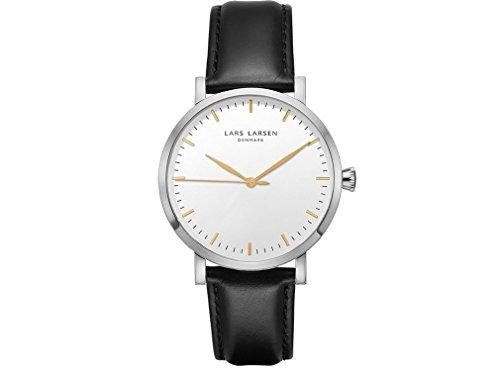 Lars Larsen Mens Watch 143SWBLL