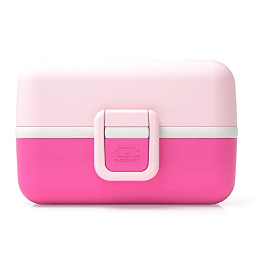 monbento Tresor Lunchbox, Kunststoff, Litchi, 16 x 9,2 x 10,4 cm