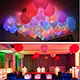 #7: Discount Retail 30 LED Balloons Mixed Colors 3 A3 Cells : LED Balloons for Decoration , LED Balloons for Birthday , Great for All Occasions: Birthdays, Holidays, Anniversary & Gift For Kids! Enjoy The Ultimate Balloons For Any Party