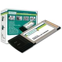 Assmann Digitus DN-7001GS Funk-LAN Adapter CardBus 2.4 GHz 54 Mbps - Pcmcia-modem-karte