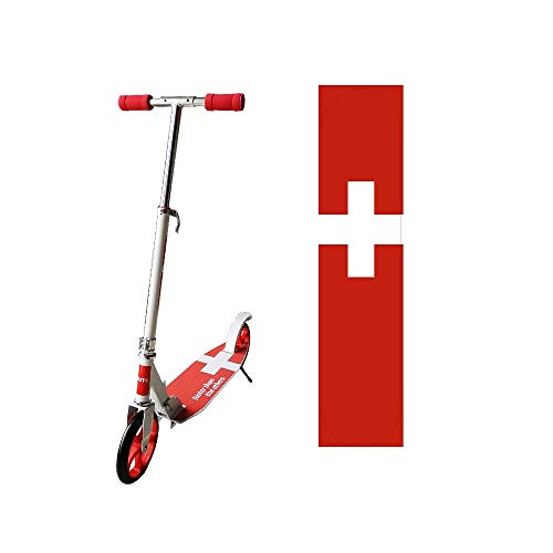 Artall Zoom 200mm Wheel City Scooter - Cityroller mit Federung klappbar und höhenverstellbar, Kickscooter für Erwachsene und Kinder