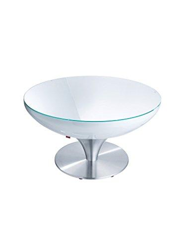 moree Lounge Tisch Lounge 45 Weiß Aluminium | 07-05-04
