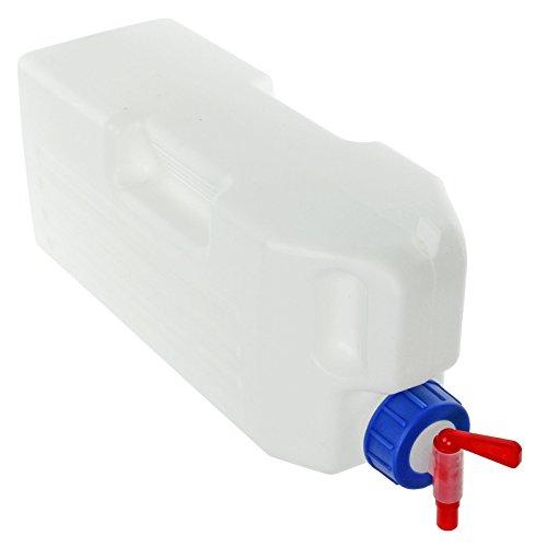 spares2go Universal-Wasserbehälter, 3Liter, Kühlschrank-Wasserbehälter/-tank + Ausgießer (Kühlschrank-drink-dispenser)