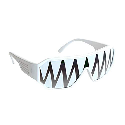 Macho Man White Shark Teeth Sunglasses Randy Savage Costume Wrestler Party WWF