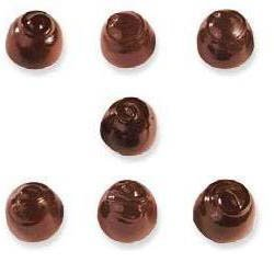 Chocolate Mold Assorted Domes 32mm x 23mm High, 28 Cavities by Cabrellon 23 Chocolate Mold
