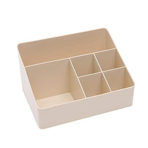 Regal aufbewahrungsbox Desktop Aufbewahrungsbox Kosmetische Hautpflegeprodukte Kunststoff Aufbewahrungsbox(Beige,free)