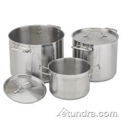 Royal Industries (ROY SS RSPT 20) - 20 Qt Induction-Ready Stainless Steel Stock Pot w/ Lid by Royal Industries 20 Quart Stock Pot