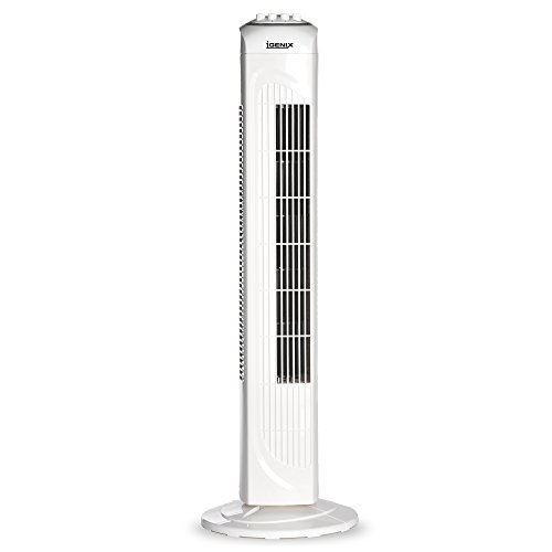Price comparison product image Igenix DF0030 Oscillating Tower Fan with Timer, 30 inch - White