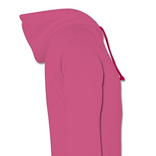 Handball - Sorry Weekend Is Handball Time - Kontrast Hoodie Rosa/Fuchsia