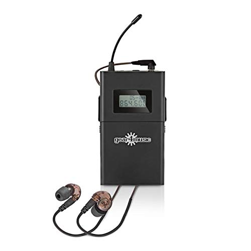 Petaca Monitor In Ear Inalámbrico Gear4music