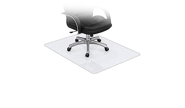 NINGWXQ Tapis de Chaise for Sols Durs for Chaises Bureau /À Domicile 1,5 Mm D/épaisseur Protecteur Tapis Transparent PVC Protecteur en PVC Peut /Être Formul/é Color : Clear, Size : 50X100CM