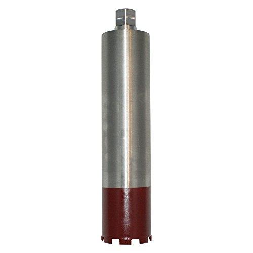 Diamantbohrkrone Ø 162 mm Bohrkrone 1 1/4 Zoll Nass + Trocken Kernbohrer mit 400 m Nutzlänge für Beton, Stahlbeton, Altbeton, Schamottstein, Mauerwerk, Ziegel, Klinker etc. - BoDi-TOOLS