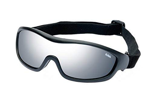 RAVS Bergbrille Skibrille Sportbrille mit Strong Silver Verspiegelung inkl. Softbag