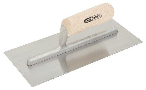 KS Tools 144.0158 Glättkelle, 280mm, mit Holzgriff