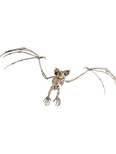 Sie Ihr Kostüm Eigenes Halloween Machen - Smiffys Fledermaus Skelett, 7x32x72cm, 46912