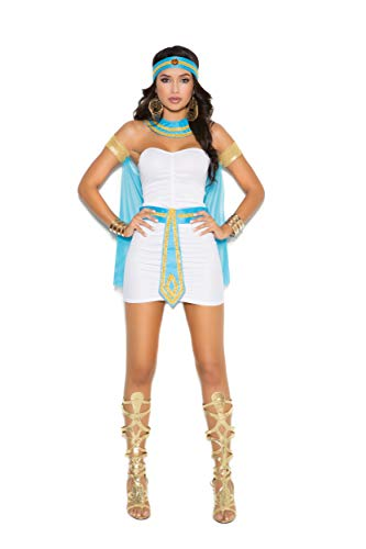 Womens Nile The Kostüm Queen Of - Elegant Moments Womens Queen of The Nile Fancy Dress Costume X-Large