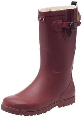 Aigle Unisex-Kinder Woody Pop  Gummistiefel Rot (griotte) 28 EU