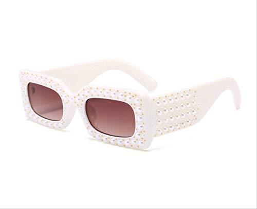 shengbuzailai Kleine quadratische Sonnenbrille Frauen Männer Sonnenbrille männlich weiblich Promi Mode Brillen 4