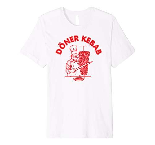 Döner Shirt, Trendiges Chef Koch Logo Döner Kebab T-Shirt