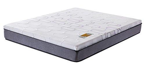 Matelas à ressorts ensachés & gel-mousse à mémoire de forme Galice - 160 x 200 x 25cm - Livraison offerte