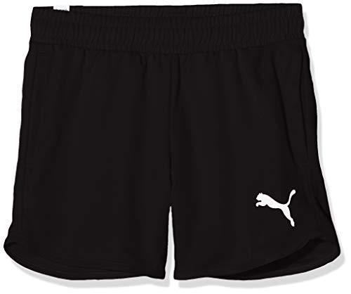 PUMA Mädchen Active Shorts, Black, 128