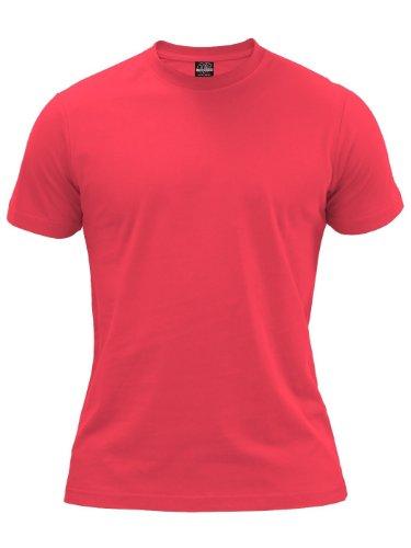 Urban Classics TB168 Herren T-Shirt Basic Tee Infrared