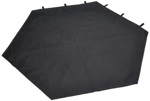 Trixie 6257 Nylonboden für Freilaufgehege # 6250/6253, schwarz