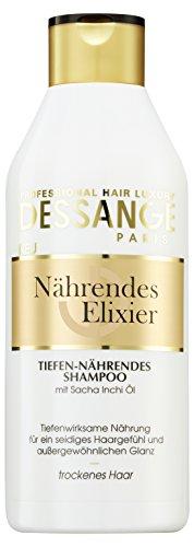 Dessange Haarpflege Nährendes Elixier Shampoo, Tiefen-Nährendes, 250 ml