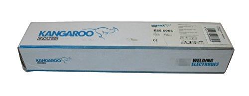 Solter 06680 Caja electrodos Rutilo E6013 (4 x 350 mm, 168 Unidades), Gris, Set Piezas