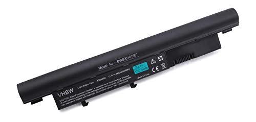 Variation vhbw Li-Ion Batterie 4400 mAh (11.1 V) en noir compatible pour ACER Aspire 3410, 3410 G, 3750, 3750 G, 3810T comme AS09D31, AS09D34, AS09D36 AS09D56, A