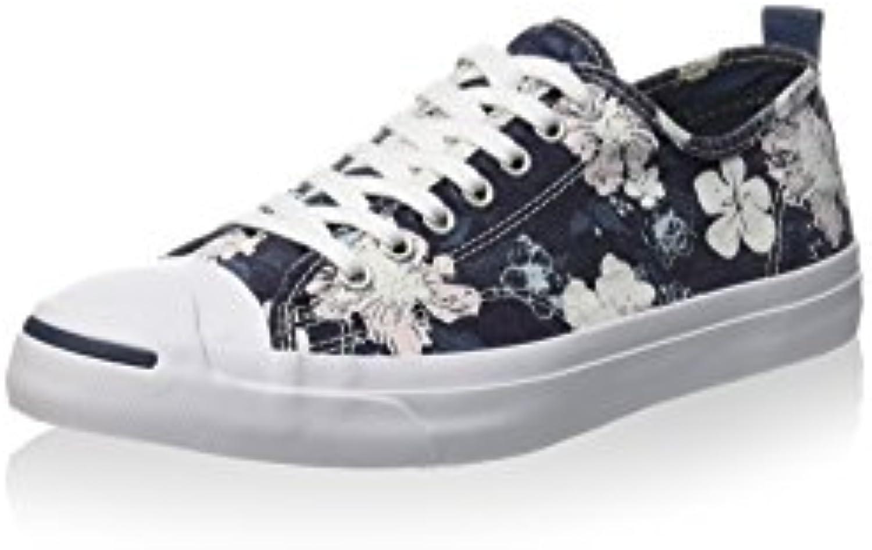 Converse Herren JP LTT OX Print Sneaker  Dunkelblau/Weiß  41 EU