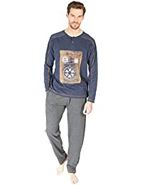 10ce1fbec8 Amazon.es  Pijamas Hombre massana - 50 - 100 EUR  Ropa