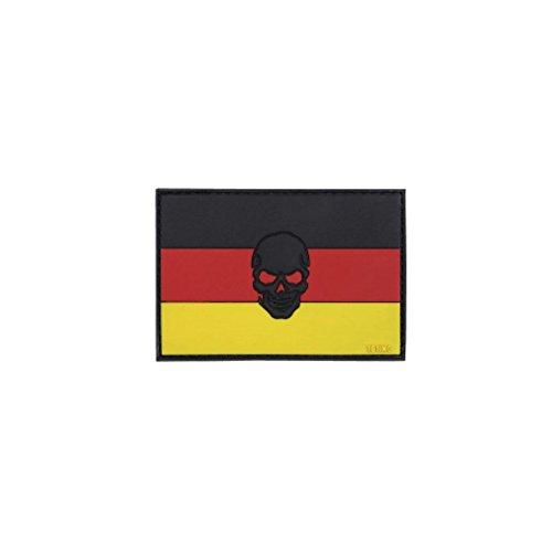 Copytec Parche Alemania Bandera Alemania Calavera