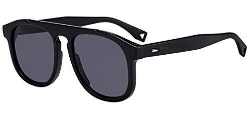 Fendi Sonnenbrillen Angle FF M0014/S Black/Dark Grey Herrenbrillen