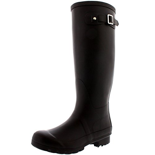 Womens Original Tall Snow Winter Waterproof Rain Wellies Wellington Boots