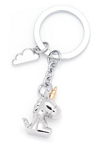 RMEX Einhorn Baby 3D Schlüsselhalter mit Wolke ()
