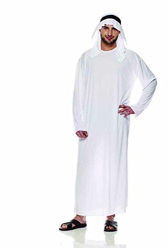 Rubie's IT30360-L-Arabisches Scheich-Kostüm, Erwachsene, Größe L