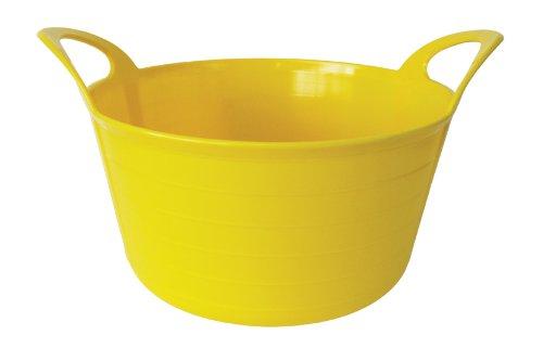 Stewart - Bacinella da giardino morbida, 12 litri, colore: Giallo