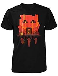 Minecraft T-Shirt (Jugend)–Glimpse