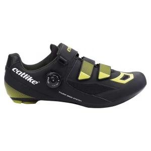 Catlike Zapatillas Carretera Talent Negro-Amarillo - Talla: 43