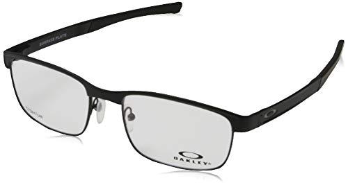 Oakley Herren Brillengestelle Surface Plate, Mattschwarz, 54