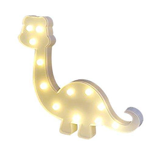 Missley mignon dinosaure LED chapiteau lumière lumière de nuit animale décorative LED pour la décoration de mariage de partie
