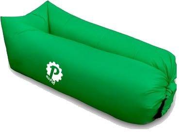 Pevita - airPuf. Sofa, chaise de plage gonflable. Photos 100% réelles. Laybag parfaite pour aller à la plage, à la piscine, au jardin ou au camping. Coussin gonflable en différentes couleurs. Lazybag. (Vert)