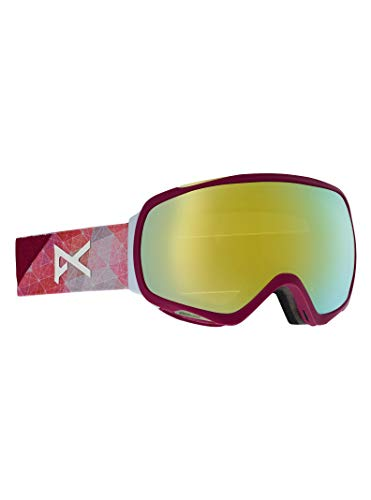 Anon Damen Tempest MFI Snowboardbrille, Geo/Sonar Bronze