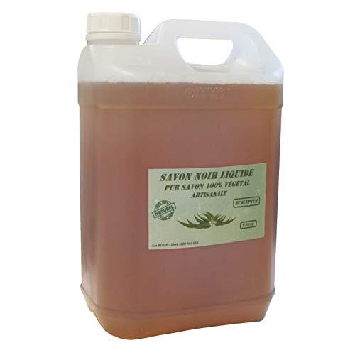 Savon noir Artisanal Naturel 4 parfums aux choix (Eucalyptus, 5 litres)