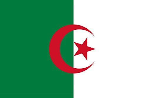 Sonia Originelli Fahne Flagge Länder Städte 90 x 150cm Fußball WM Fan Party Farbe Algerien