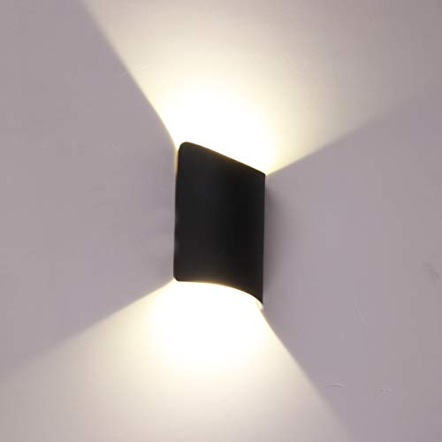 Topmo-plus Iluminación pared dentro Focos pared interior/exterior aluminio / 14W LED bridgelux...