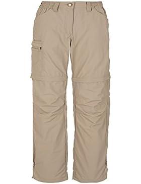 Vaude Farley ZO - Pantalones de senderismo para mujer