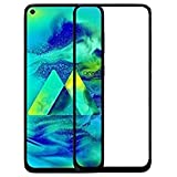 Lustree [Anti Glare] [scratch Proof] Full Coverage 5D Tempered Glass For Samsung Galaxy M40- Black